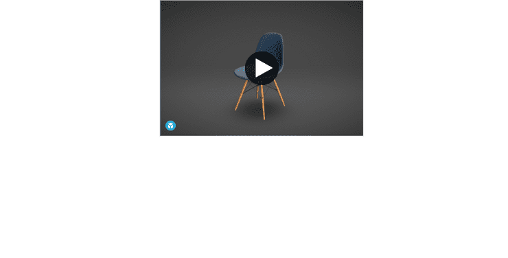 The Sketchfab viewer embedded on a page
