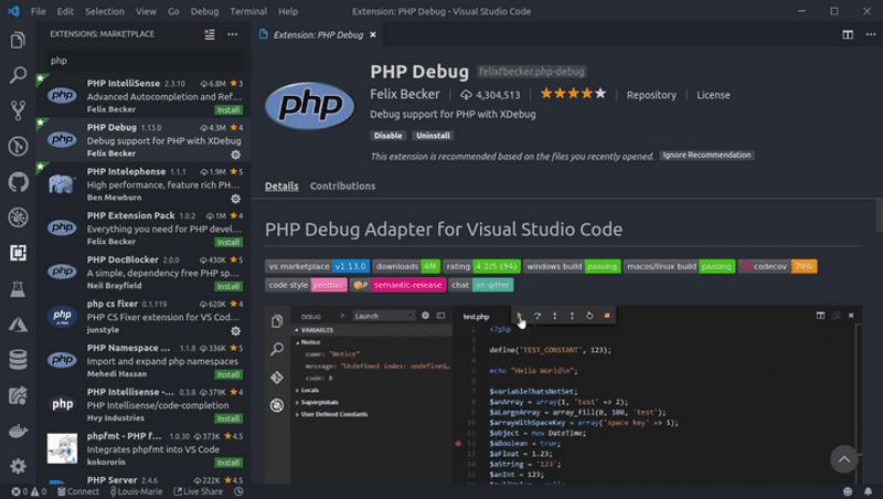 Setup Vs Code For Efficient Php Development Theodo